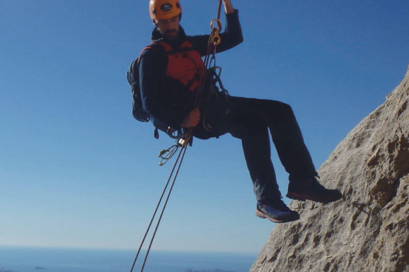entrenamiento para montaña