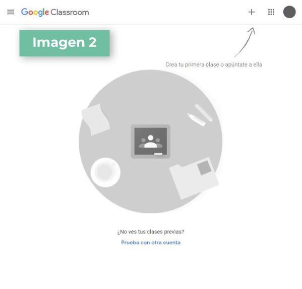 Google Classroom paso 2