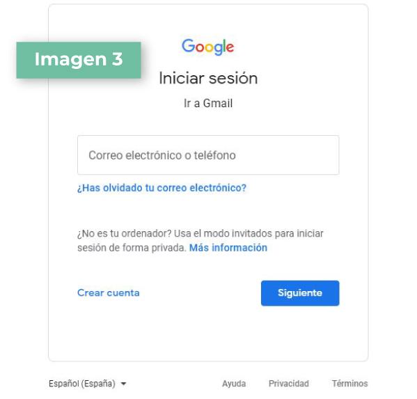 Google Classroom paso 3