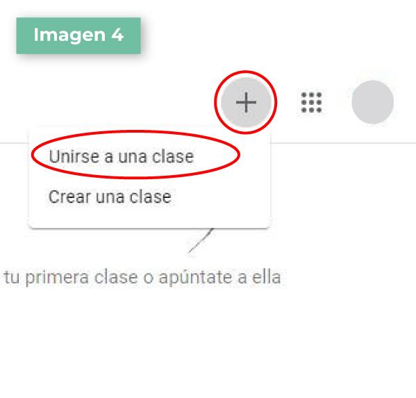Google Classroom paso 4